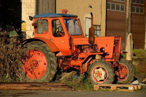 Tractor Agricultural Machine Belarus Landtechnik