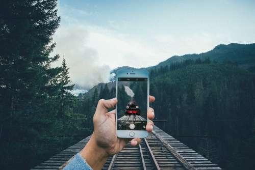Train Iphone Smartphone Move