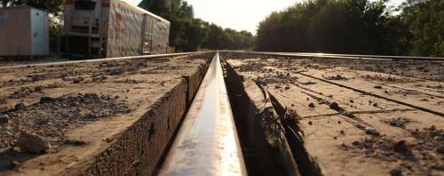 Train Railroad Rails