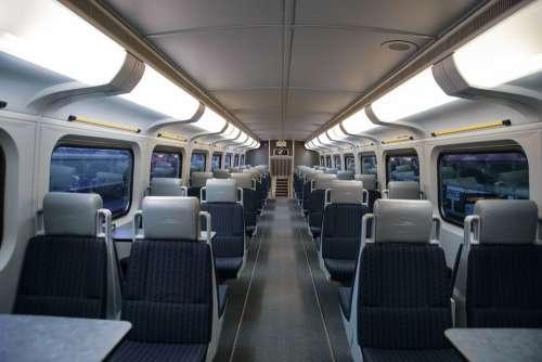 Train Train Interior Train Inside The Train Of