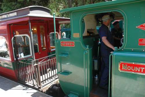 Train Steam Locomotive Historical