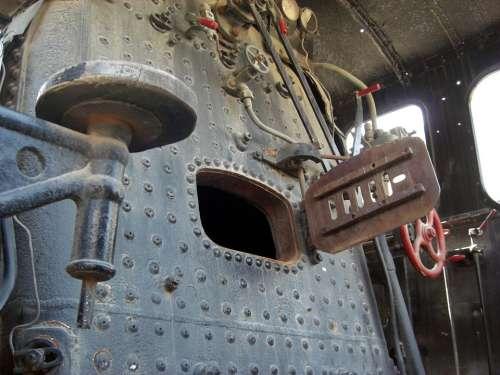 Train Locomotive Smoke Railway Via Transport