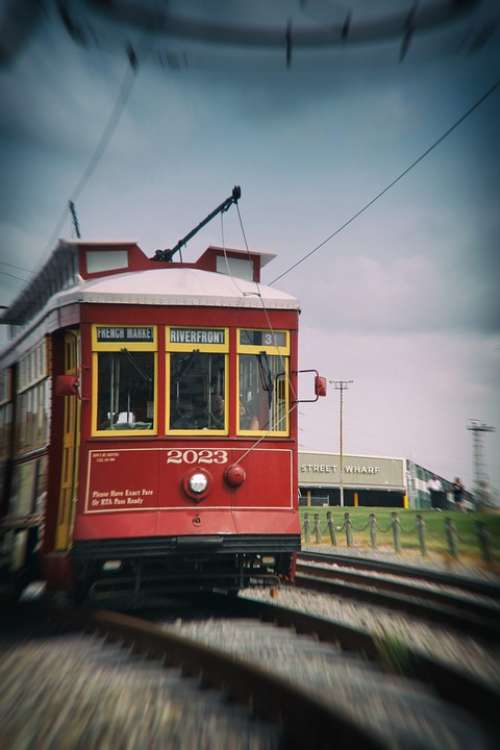 Train New Orleans French Quarter Transportation