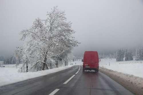 Transylvania Winter Romania Landscape Snow Trip