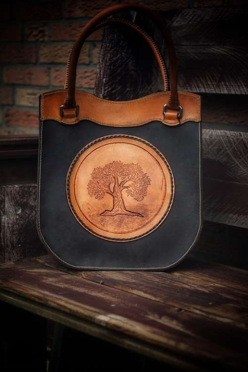 Tree Of Life Handbag Future Training Leather