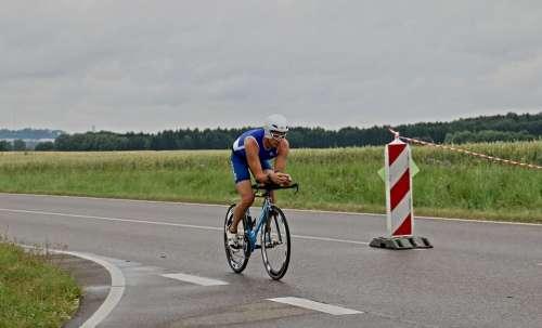 Triathlon Road Bike Cyclists Triathlete Bike