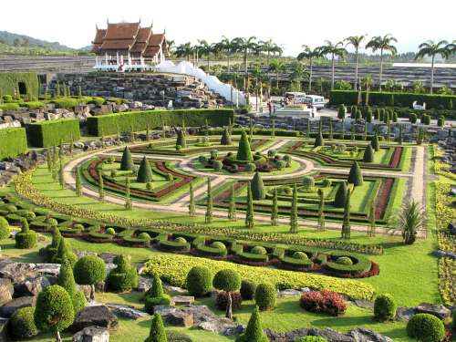 Tropical Park Nong Nuch- Thailand Botanical Garden