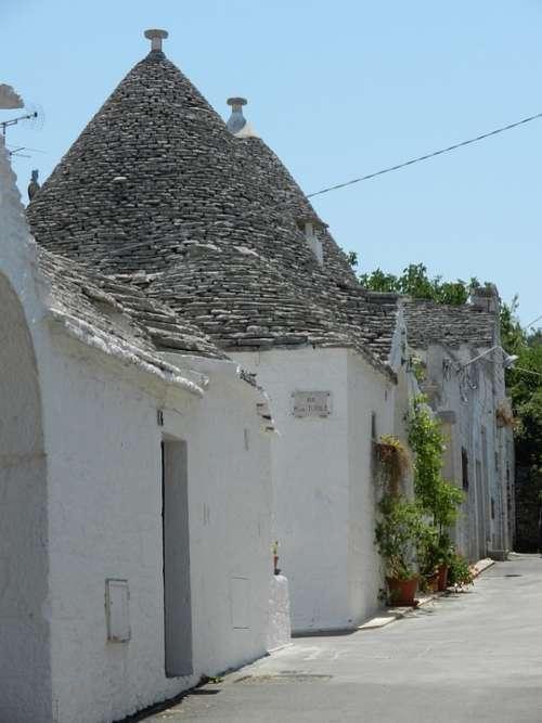 Trullo House Italy Puglia Alberobello