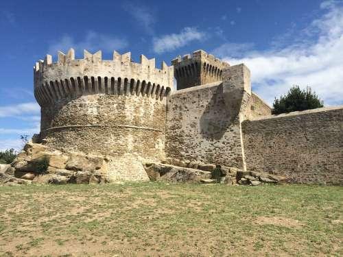 Tuscany Fortress Italy
