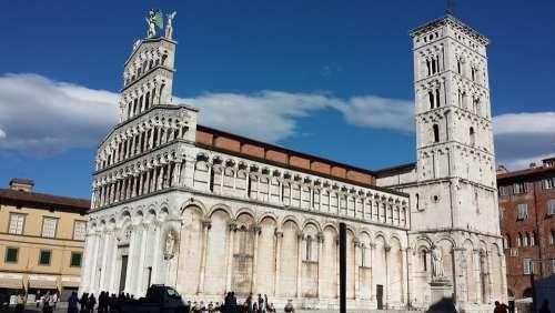Tuscany Duomo Lucca