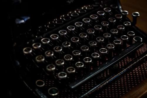 Typewriter Antique Retro Keyboard Vintage Old