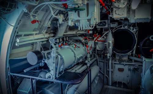 U Boat Interior Devices Lines Torpedo Tube