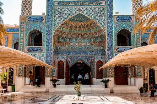Uae Dubai City Arab Emirates Mosque Muslim