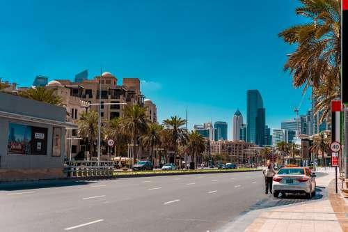 Uae Dubai City Arab Emirates Metropolis