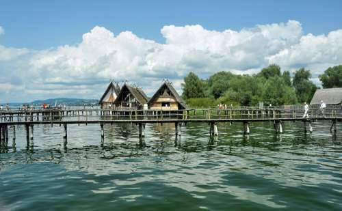Uhldingen Lake Constance Stilt Houses Stilt Village
