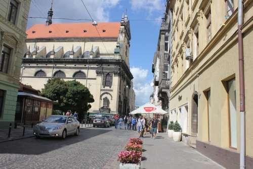 Ukraine Lviv The City Of Lviv