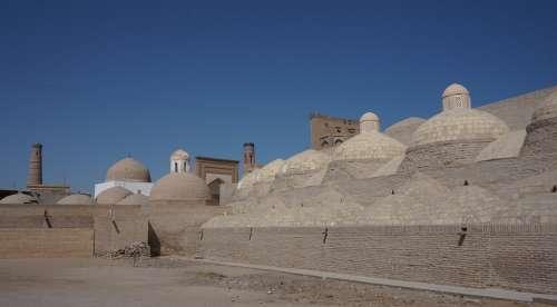 Uzbekistan Khiva Jiva Silk Route Architecture Wall
