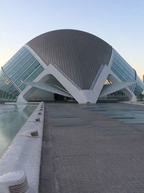 Valencia City Architecture Calatrava Museum