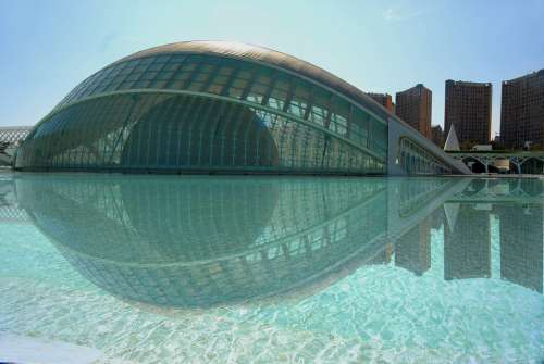 Valencia City Art Science Architecture Museum