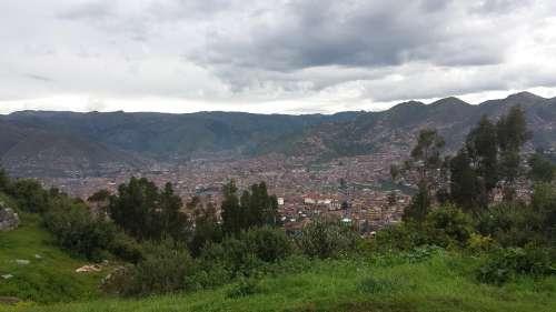 Valley Inca Cuzco Cusco Coricancha Peru Quechua