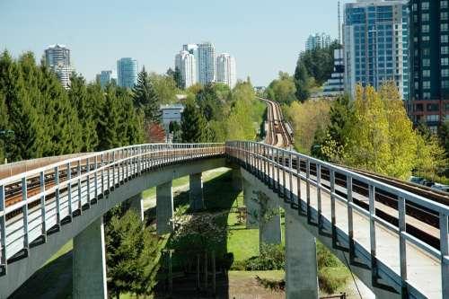 Vancouver Skytrain Joyce Station Vancouver Train