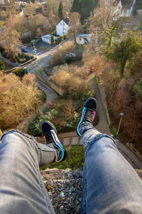 Vans Rooftop Bad Münstereifel Castle Legs Ext