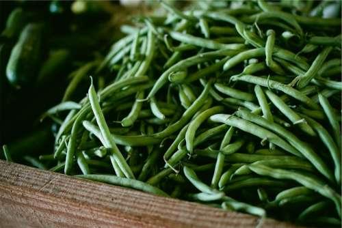Vegetable String Green Bean Food Vegetarian