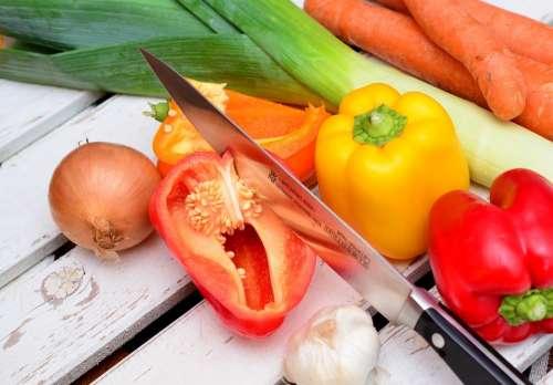 Vegetables Paprika Traffic Light Vegetable Food Eat