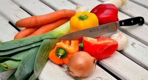 Vegetables Knife Paprika Traffic Light Vegetable