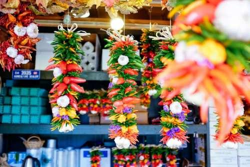 Vegetables Market Groceries Food Healthy Garlic