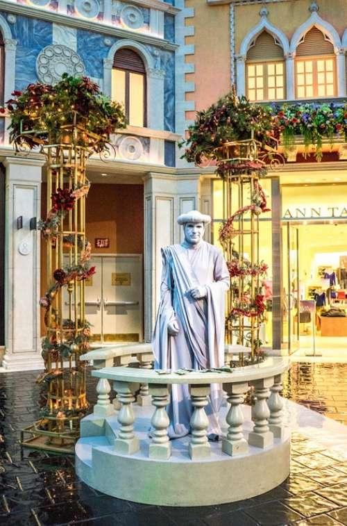 Venetian Statue Las Vegas Tourism Architecture