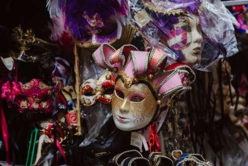 Venice Mask Carnival Masks Masquerade Mysterious