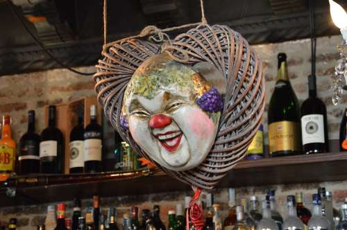 Venice Carnival Mask Osteria Mysterious Masked