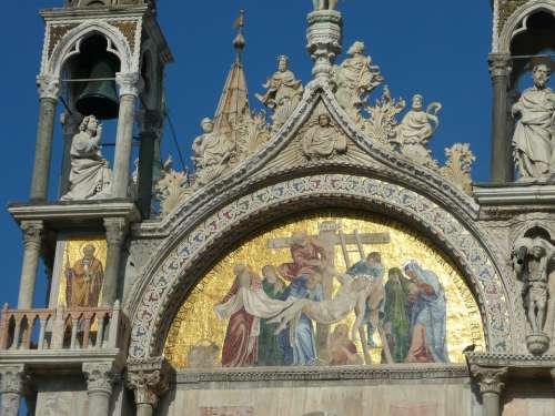 Venice Basilica Di San Marco Christian Italy