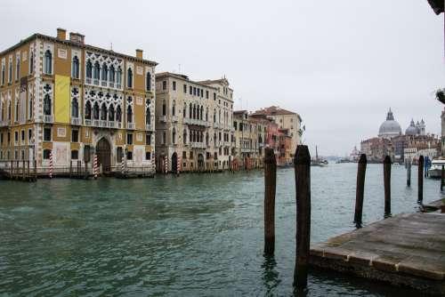 Venice Canal Grande Italy