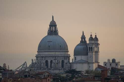 Venice Morgenstimmung Church Sunrise Mood