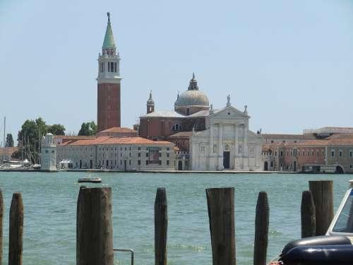 Venice Italy Santa Maria Europe Travel Italian