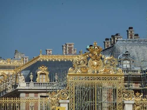 Versailles Goal Gold Castle Sun King