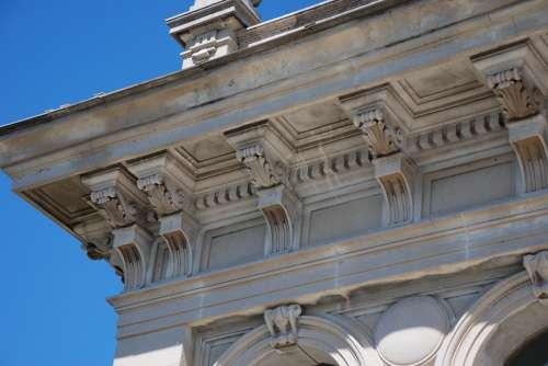 Villa Maraini Rome Architecture Stone