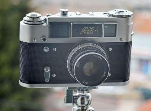 Vintage Retro Camera Analog Film Photography Lens