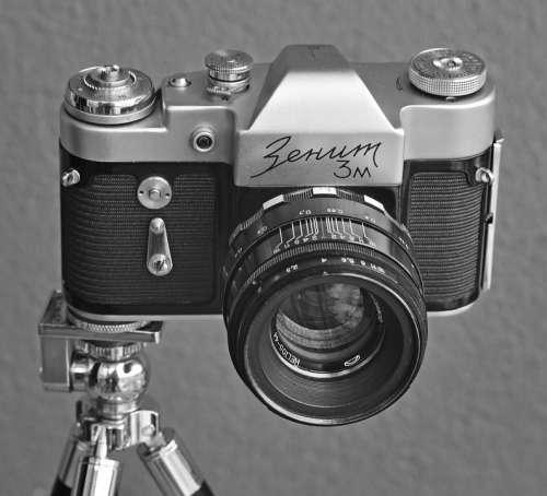 Vintage Camera Retro Camera Film Camera Old Used