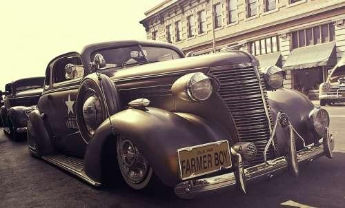 Vintage Car Oldtimer Classic Car Automobile Car