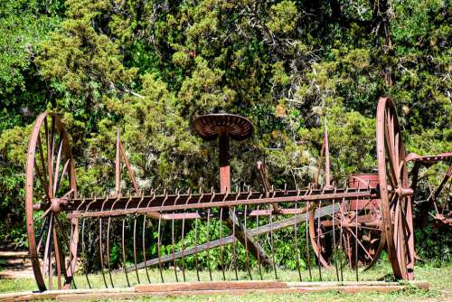 Vintage Hay Rake Vintage Farm Equipment Farm