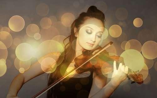 Violin Artist Solistin Instrument Musician