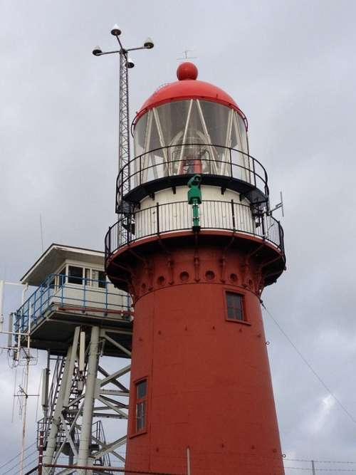 Vlieland Lighthouse Winter