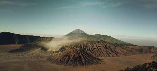 Volcanoes Iceland Volcanic Nature Landscape
