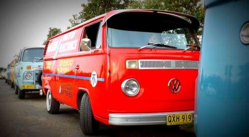 Volkswagen Kombi Bus Road Trip Trip Road
