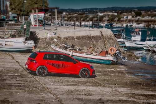 Vw Golf Gti Volkswagen Sea Power Motor Vehicle