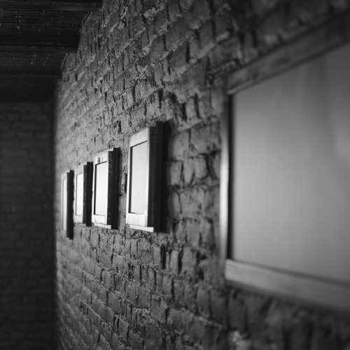 Wall Painting Attic Dark