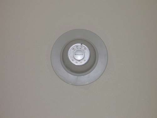 Wall Thermostat Temperature Gauge Control